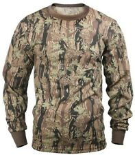 t-shirt camo long sleeve smokey branch camouflage cotton poly blend rothco 6770