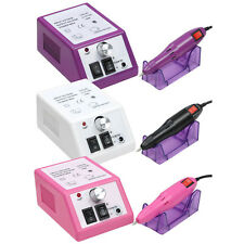 Professional Manicure Pedicure Electric Drill File Nail Art Pen Machine Set Kit