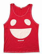 """DEADMAU5 """"BIG MOUTH"""" RED TANK TOP SHIRT NEW ADULT OFFICIAL HOUSE TECHNO MAU5HEAD"""