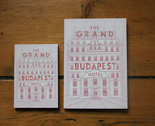 The Grand Budapest Hotel Notebook, Wes Anderson journal, Zubrowka, ralph fiennes