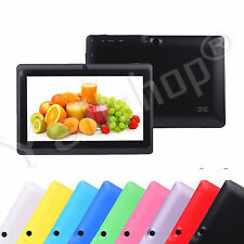 """8GB 7"""" Google Android 4.4 A33 Quad Core Screen Camera Tablet PC Wifi For Kids"""