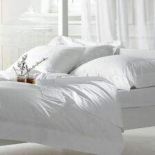 ROYAL WHITE 600-800-1000ThreadCount BEDDING SET 100% COTTON SOLID & STRIPE