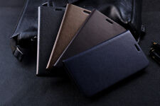 Genuine Cow Leather Wallet  Case Samsung Galaxy Note 2 N7100 & Galaxy Mega i9200