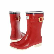 Joules Ladies Wellys Seafarer - Red