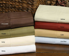 CHEAPEST 800TC  SHEET SET SOLID & STRIPE ALL SIZE & COLOR 100% EGYPTIAN COTTON
