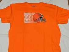 CLEVELAND BROWNS T SHIRT BIG AND TALL SIZES ORANGE CLEVELAND BROWNS T SHIRT XLT