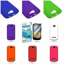 Brand New For BLU Dash 4.5 Phone - Soft Flexible Skin Silicone Cover Case