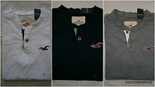 NWT Hollister San Onofre Henley T Shirt Muscle Fit Mens M&L&XL By Abercrombie