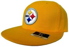Pittsburgh Steelers Reebok Gold NFL Fitted Hat