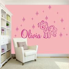 GIRLS NAME Bedroom Wall Art Decal/Sticker My Little Pony