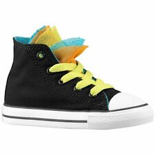 Converse All Star Party Girls' Toddler Basketball Shoes (Black)