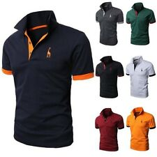 Jeansian Designed Mens T-Shirts Tops Tee POLO Slim Fit Stylish XS S M L D313