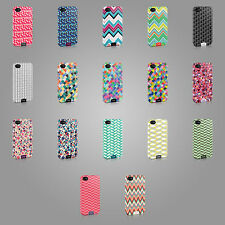 NEW TIRITA CASE COVER FOR IPHONE OR SAMSUNG GEOMETRIC CHEVRON CIRCLES LINES