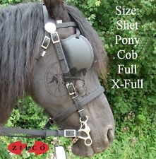 Carriage Driving Harness Bridle Zilco Tedex Shetland Pony Cob Full