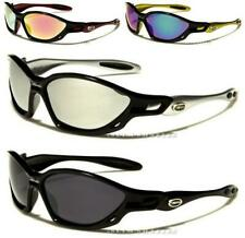 NEW SUNGLASSES X-LOOP DESIGNER SPORTS BLACK LARGE WRAP MENS LADIES FASHION UV400