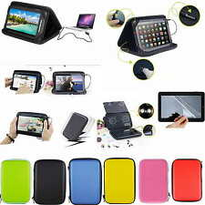 "Colorful Speaker Leather PU Case+Free Film For 7"" HP Slate7 Plus/HP Slate7 HD 4G"