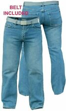 """D555 EXTRA TALL STRAIGHT LEG JEANS IN CLASSIC BLUE(CHICAGO)WAIST 32-50,L38"""""""