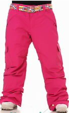 686 Mannual Womens Ski Snow Insulated Waterproof Pants #14 -Pink