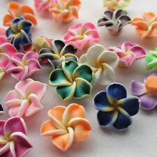 30/100pcs 15mm Mix Assorted Mini Fimo Polymer Clay Round BeadsFindings Upick
