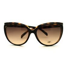 Womens Large Brow Cat Eye Style Butterfly Designer Fashion Sunglasses