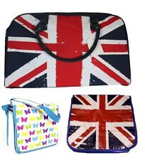 UNION JACK SHOULDER BAG HAND CARRY LUGGAGE FLIGHT BAG HOLDALL LAPTOP BAG NEW