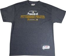 "Pittsburgh Pirates Majestic ""Property Of"" YOUTH Gray T-Shirt"