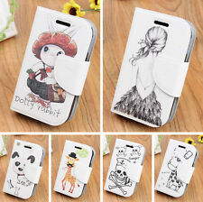 Protective Leather Wallet Case Cover Skin For Samsung Galaxy Young Duos S6312