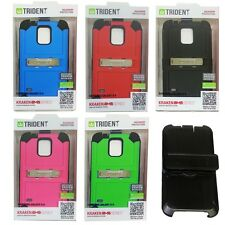 Trident Kraken AMS 360 Full Body Case Cover For Samsung Galaxy S5 S V w/ Holster