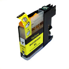 1 CHIPPED LC123 / LC125 YELLOW Compatible Ink Cartridge for Brother Printers