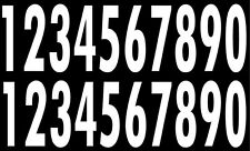 Full Size OR Replica Mini Sized Helmet Number Decals for Pittsburgh Steelers