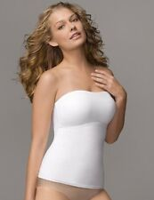 INSPIRATIONS FAT FREE DRESSING STRAPLESS TANK #390 (FLEXEES STYLE #4766) WHITE