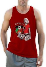Marilyn Monroe PORTUGAL SOCCER Singlet Futebol National Team WORLD CUP 2014 Vest