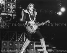 ACE FREHLEY PHOTO KISS 1970s Concert Photo by Marty Temme 1C