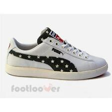 Men's Puma Archive Lite Lo Cvs USA 357434 01 Sneakers Shoes Moda White Stars
