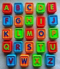 Vtech Replacement Letter Blocks Sit To Stand Alphabet Train Pick One Free Ship