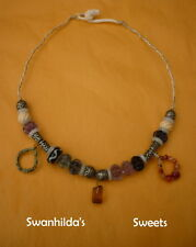 NECKLACE REENACTMENT HANDCRAFTED OOAK VIKING TRADE ROUTES LARP SWSW