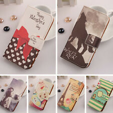 Cartoon Flip PU Leather Case Cover Skin Protection For Acer Liquid S1 Duo S510