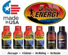 5 Hour Energy - Pomegranate Berry Cherry Orange Grape - Extra Strength + Regular