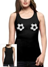 Soccer Football Bra Women Tank Top Sexy Top Fan shirt World Cup 2014 Boobs Funny