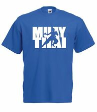 MUAY THAI mma gym sport workout xmas birthday gift ideas boys girls top T SHIRT