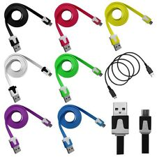 3-10ft Flat Noodle Data Cable for ZTE Reef Prelude / Avail 2 Awe Aspect Supreme