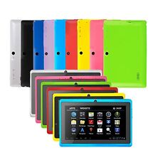 """New 16GB Multi-Color 7"""" Android 4.4 Quad Core A33 Dual Camera Tablet PC for Kids"""