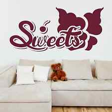SWEETS, Cherry, Ice Cream, LARGE WALL STICKER, Decal, WallArt, SS2013