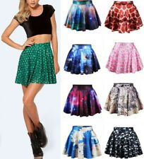 Game of Thrones/ Adventure Times Print Mini Skirt Flared Pleated Short @MD6510