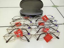 CLASSIC ROUND GREAT QUALITY MEN WOMEN METAL READING GLASSES WITH FREE HARD CASE