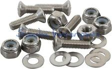 Machine Screws  M5 x 15 mm with Nyloc Nut & Washer Kayak Canoe Outfitting A4 SS