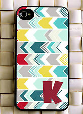 Monogrammed iPhone 5 case cute personalized cover iPhone 4 MG-031