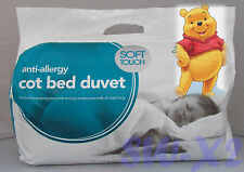 WINNIE THE POOH ANTI ALLEGY COT BED BABY CHILDRENS DUVET QUILT PILLOW COVER SET