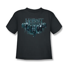 The Hobbit Thorin And Company T-Shirt Boy Girl Child Charcoal Gray S M L 4 5 6 7