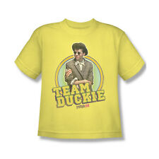 Pretty In Pink Team Duckie T-Shirt Youth Boy Girl Yellow S M L XL